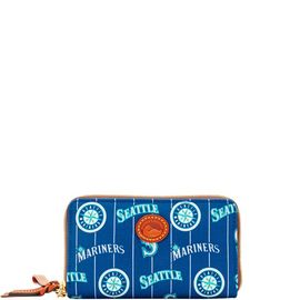 Mariners Zip Around Phone Wristlet