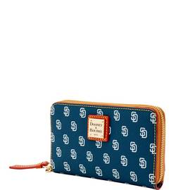 Padres Zip Around Phone Wristlet
