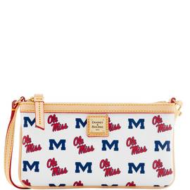 Ole Miss Large Slim Wristlet