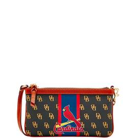 Cardinals Large Slim Wristlet