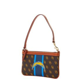 Chargers Slim Wristlet