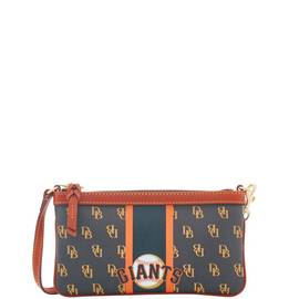 Giants Large Slim Wristlet