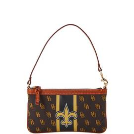 Saints Slim Wristlet