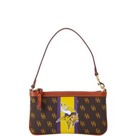 Vikings Slim Wristlet