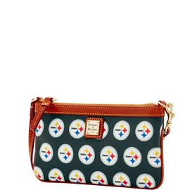 Steelers Large Slim Wristlet