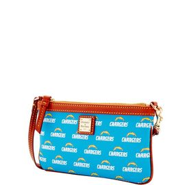 Chargers Large Slim Wristlet product Hover