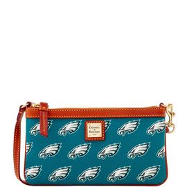 Eagles Large Slim Wristlet