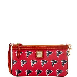 Falcons Large Slim Wristlet