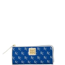 Royals Zip Clutch