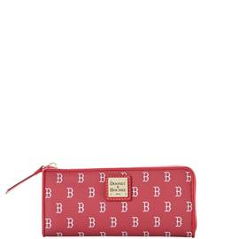 Red Sox Zip Clutch