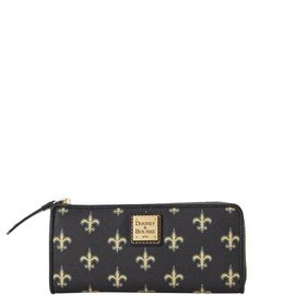 Saints Zip Clutch