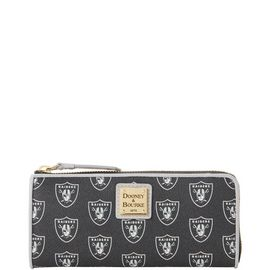 Raiders Zip Clutch