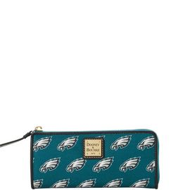 Eagles Zip Clutch