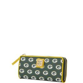 Packers Zip Clutch