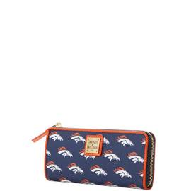 Broncos Zip Clutch