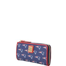 Patriots Zip Clutch